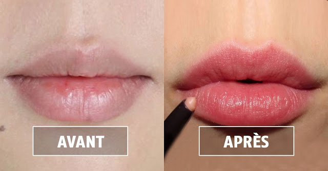 Le secret caché des lèvres rouges naturellement dès la première application