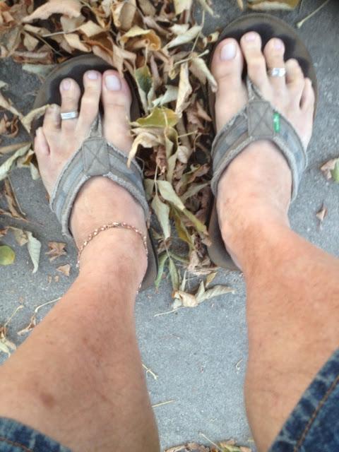Flip Flops in November!!!