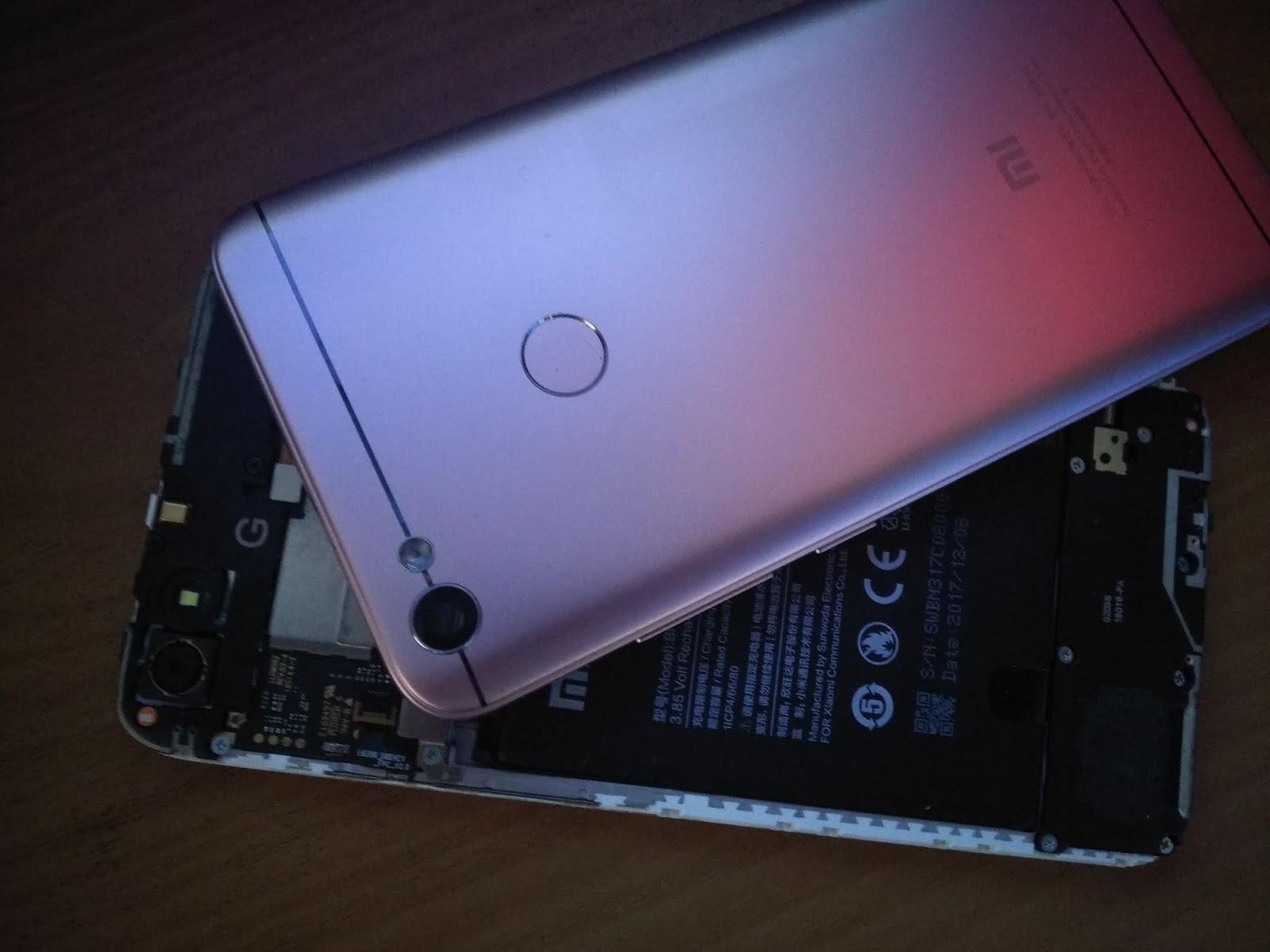 Cara Flash Xiaomi Redmi Note 5A Prime Ugglite