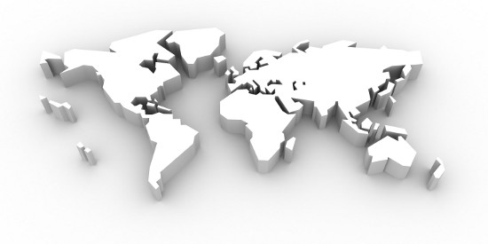 3d View Picture: 3d World Map