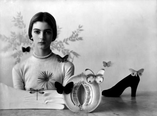 1946. Carmen Dell'Orefice by Irving Penn