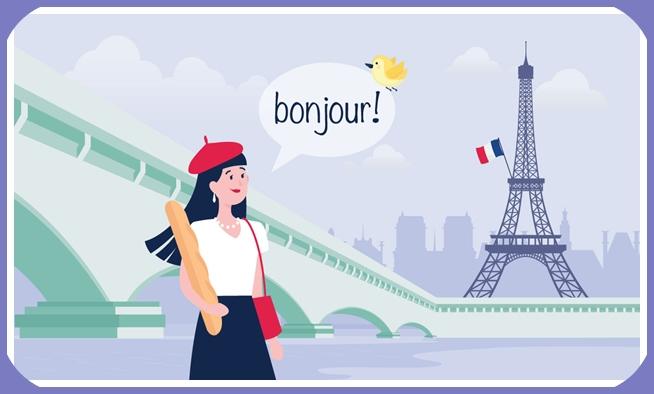 دورة مجانية لتعلم اللغة الفرنسية  + شهادة مجانية