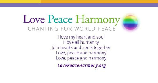 Bring Love Peace and Harmony