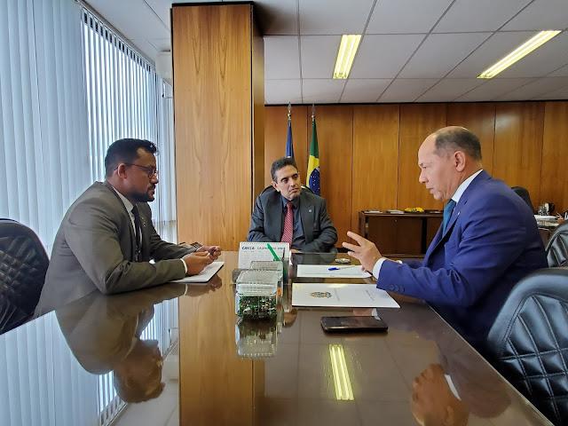 Coronel Chrisóstomo solicita reunião no Ministério da Economia - INSS