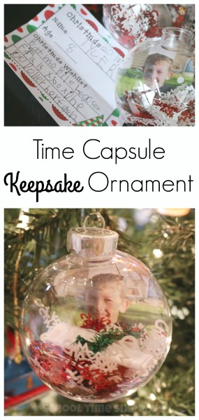 keepsake christmas ornament