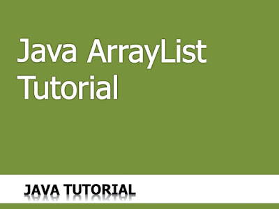 Java ArrayList Tutorial
