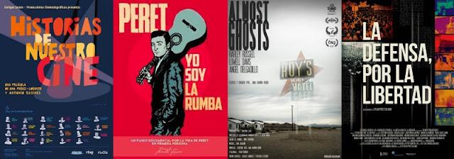 Cine Documental, nominaciones, Goya 2020