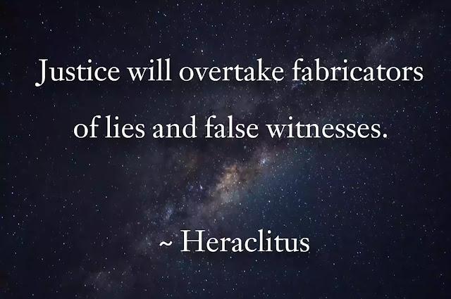 heraclitus Justice  quotes