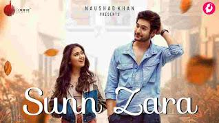 Sunn Zara Lyrics in English Jalraj