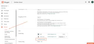 cara menambah penulis serta admin baru pada blog atau blogspot