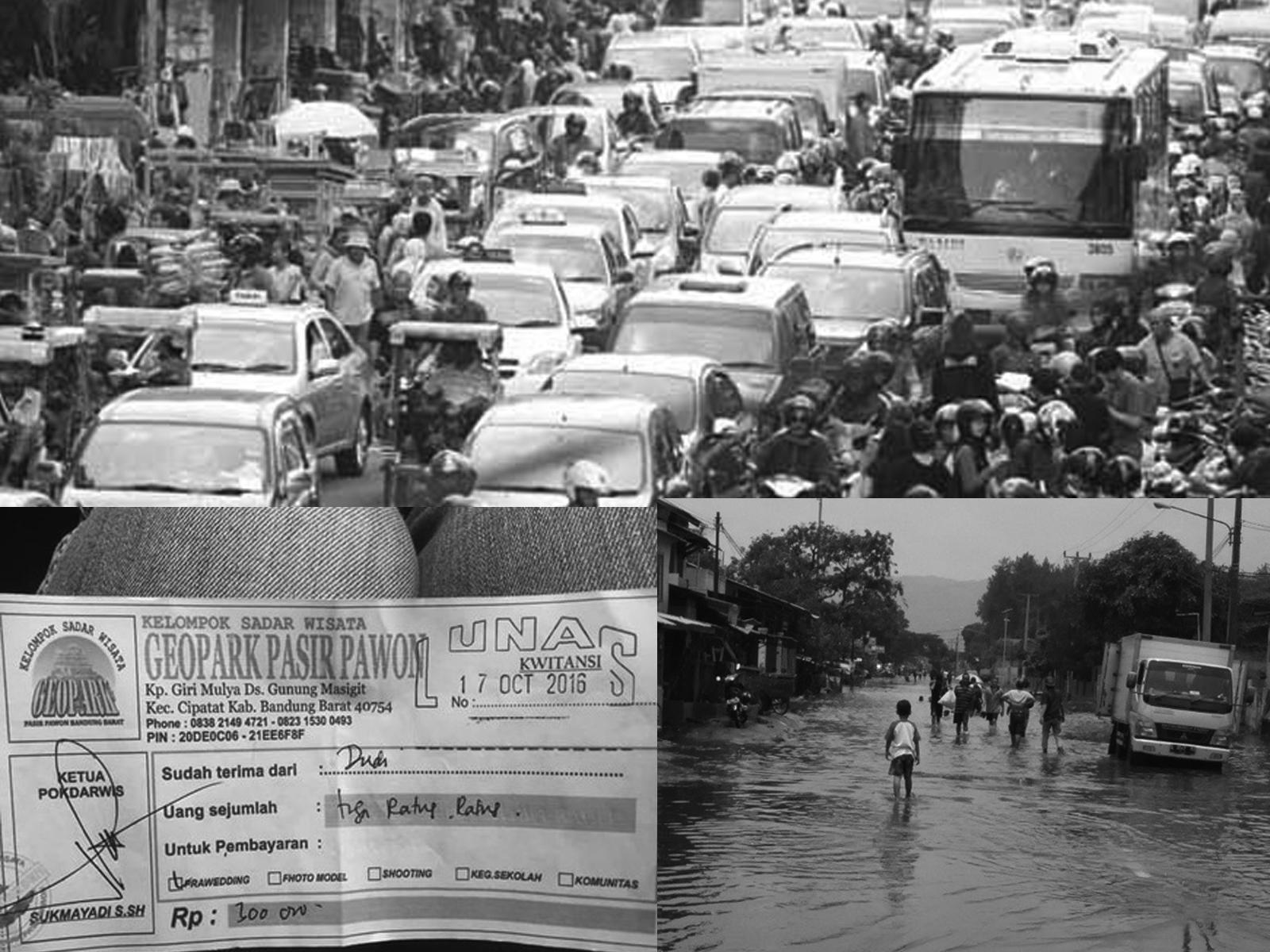 Masalah wisata di Bandung