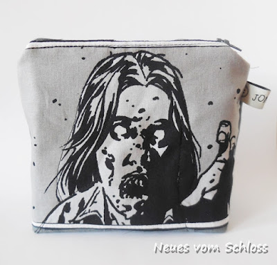 nerd-n-geek, The Walking Dead, Tüddelkram- Tasche, upcycling- neuesvomschloss.blogspot.de