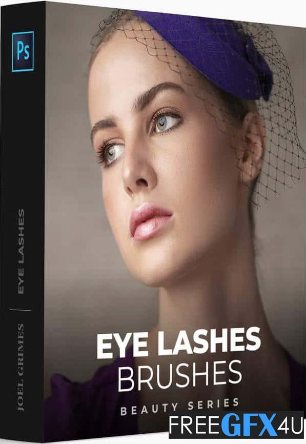 Eye Lashes Photoshop Brushes