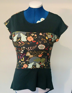 Creates Sew Slow: Style Arc Maris Moon Top