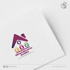 Desain Logo Rumah Belanja Natuna