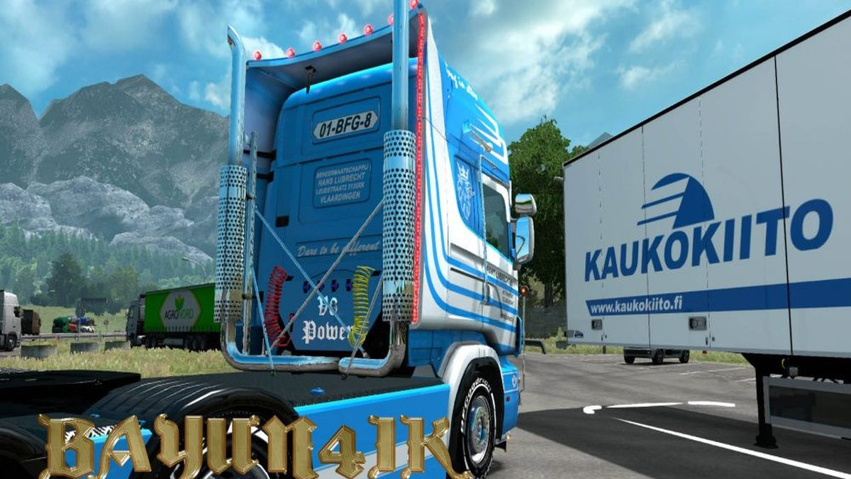 Hans Lubrecht Skin for Scania RJL