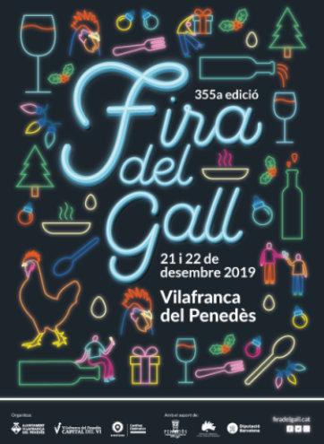 355a edició de la Fira del Gall de Vilafranca del Penedès