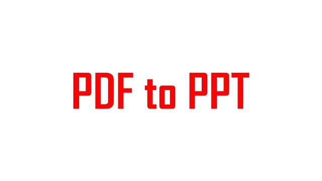 cara mengubah file pdf ke ppt