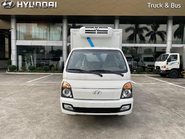Xe thùng đông lạnh 1 tấn Hyundai H150