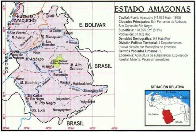 Resultado de imagen para ESTADO AMAZONAS