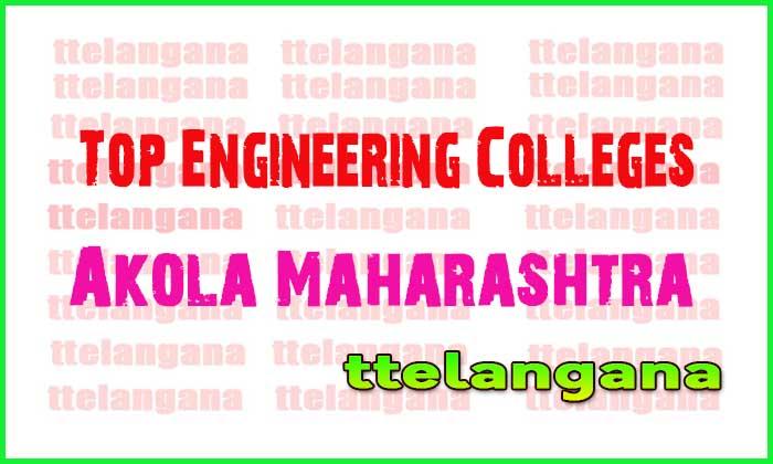 Top Engineering Colleges in Akola Maharashtra