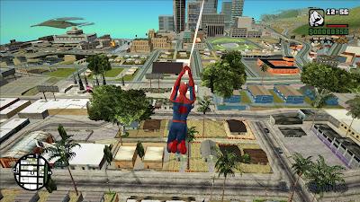 GTA San Andreas The Amazing Spider Man Latest Version 2020