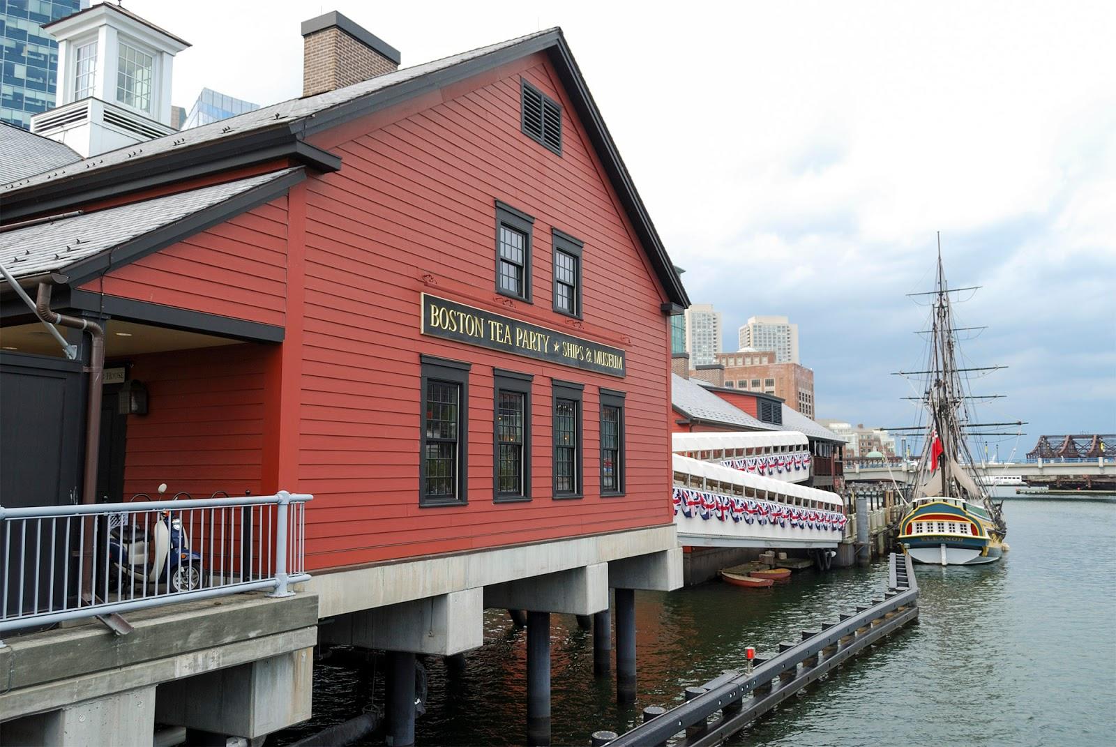 tea part ships museum boston itinerary plan guide tourism usa america park east coast