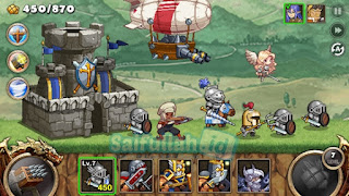 Kingdom Wars Mod v1.4.4 Apk Unlimited Gold + Diamond