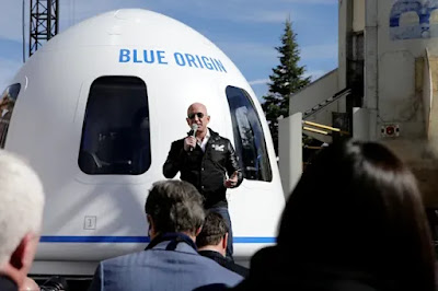 Blue Origin एक हाई-प्रोफाइल स्पेस टूरिज्म कंपनी