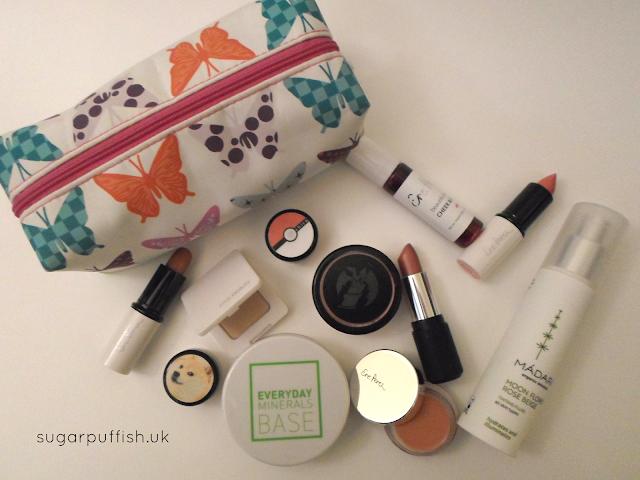 natural organic Makeup Storage & Collection