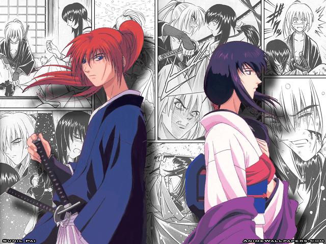 Kenshin menikah dengan Tomoe