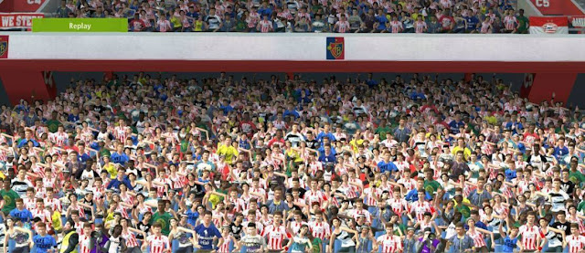 New Stadium Crowd PES 2017