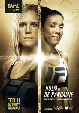 Review of UFC 208 pay-per-view Holm vs de Randamie