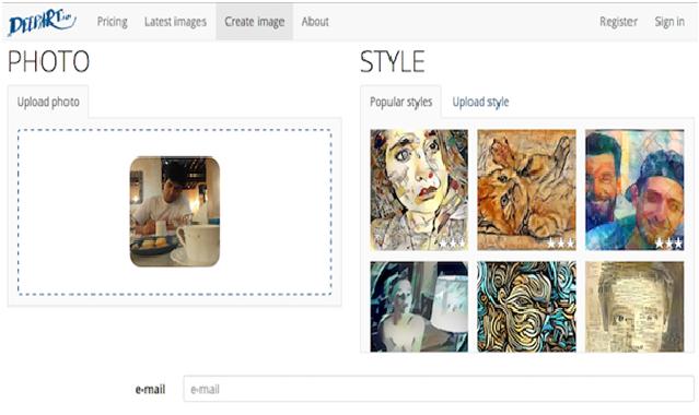 DeepArt (Web) Create Custom Styles