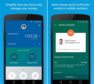 PayPal - Aplikasi Banking Untuk Bisnis di Android