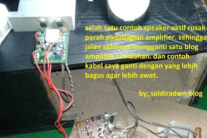 Berbagai Penyebab Kerusakan Speaker Aktif