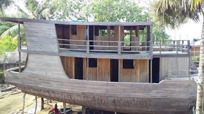 Kapal Phinisi Panjang 24 Meter