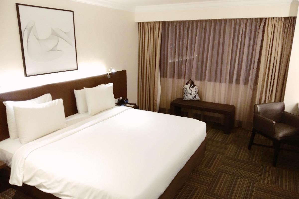Kamar Hotel Radisson Medan: Jendela Besar