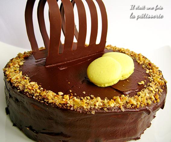 Gâteau chocolat pour la fête
