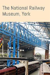 The National Railway Museum in York for families