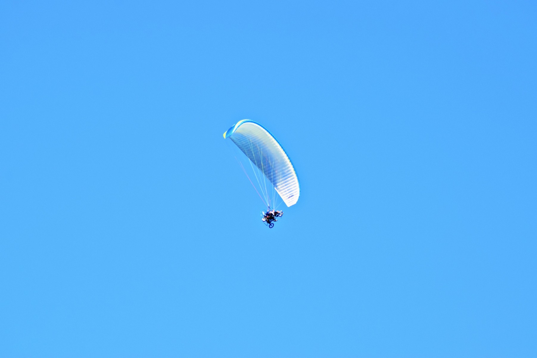 Lot motoparalotnią