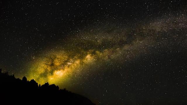 Galaxy Night Star Sky Wallpaper