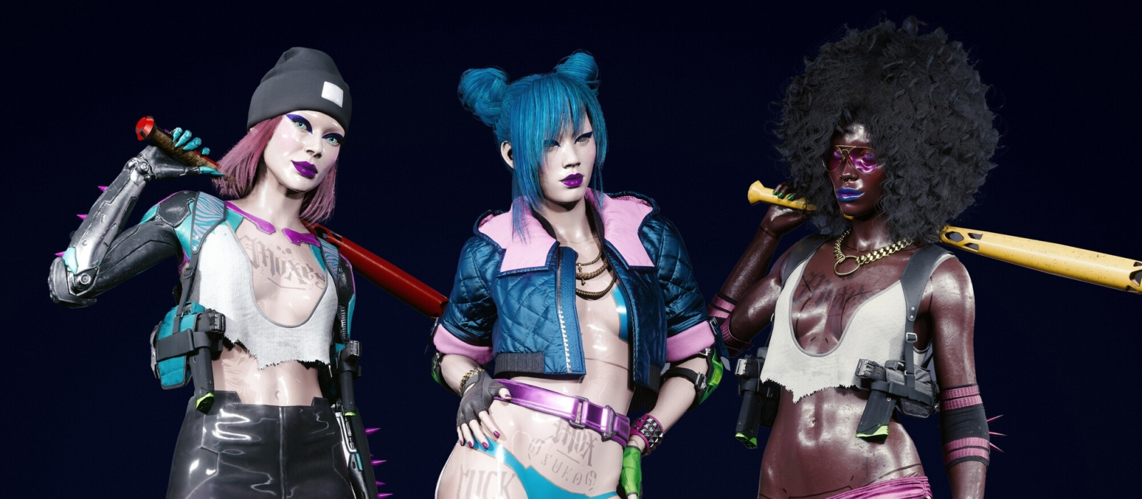 Knight City Gangs in Cyberpunk 2077. Haitian Netrunners, Combat Prostitutes and Eastern Europeans