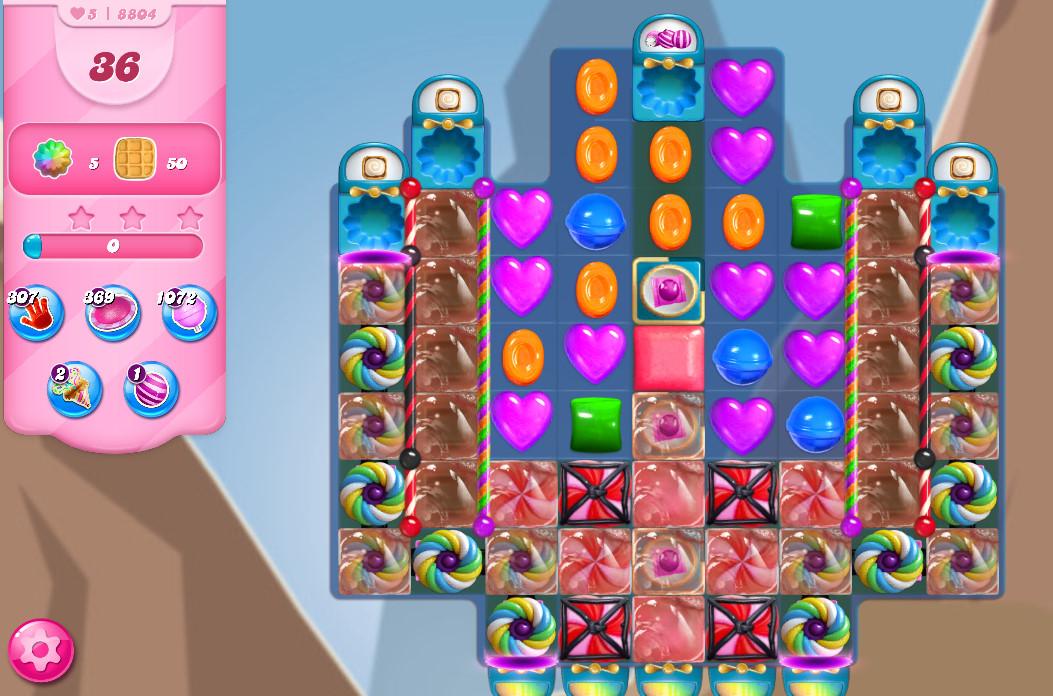 Candy Crush Saga level 8804