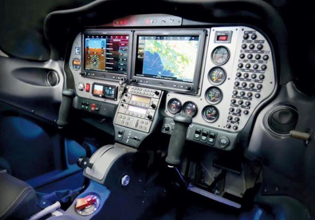 Tecnam P2002 Sierra MkII cockpit