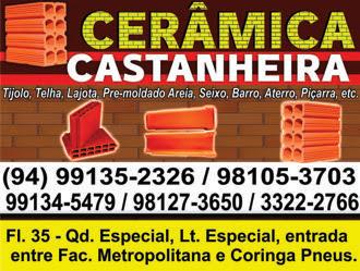 EM MARABÁ/PA -- CERÂMICA CASTANHEIRA - QUALIODADE E COMPROMISSO