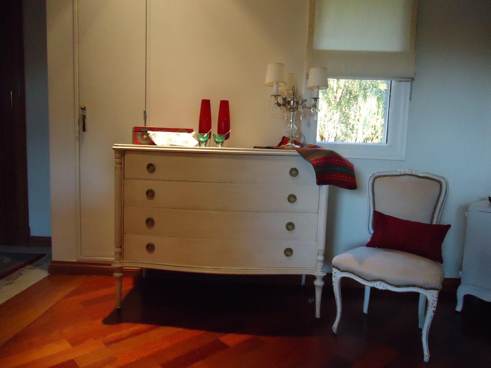 Vintouch muebles reciclados pintados a mano comoda - Muebles estilo antiguo ...