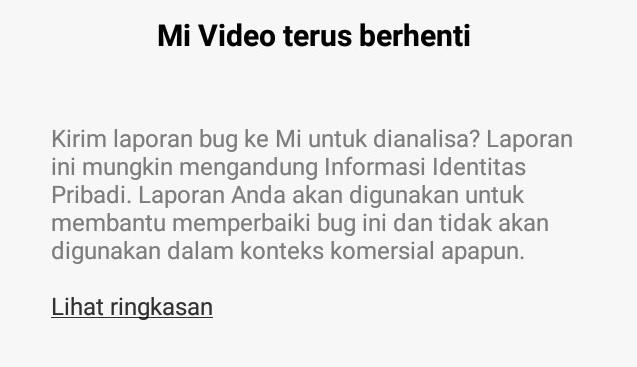 4 Solusi Mi Video Terus Berhenti Saat Ingin Memutar Video