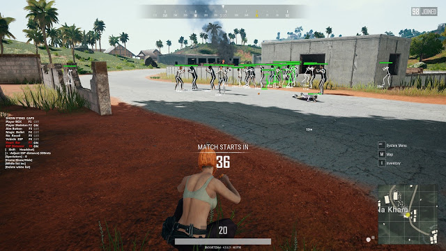 Download Cheat PUBG Steam PC 23 April 2020 Latest Update and Anti Banned Free.