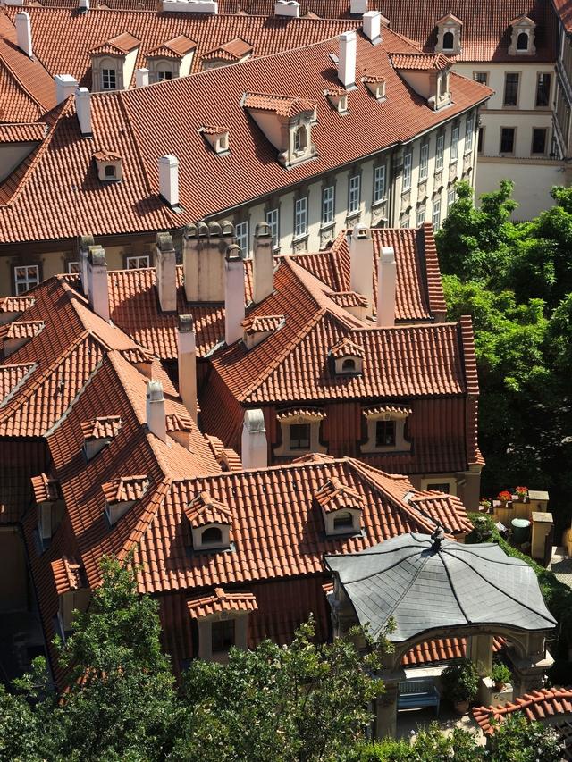 Praag: de Furstenbergtuin (de tuinen onder de Praagse burcht)